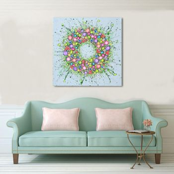 "CANVAS PRINT - ""The Circle of Life"" From £65"