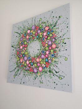 "ORIGINAL ART WORK - ""The Circle Of Life"" (60x60cm)"