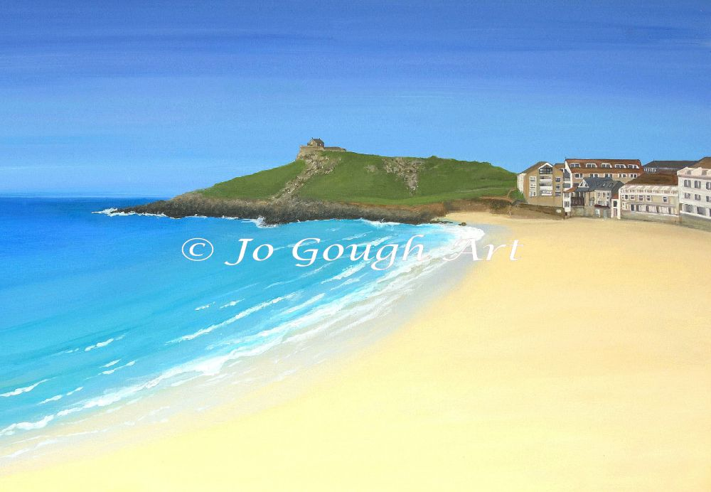 PORTHMEOR BEACH (PLAIN)