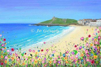 "FINE ART GICLEE PRINT - ""Porthmeor Beach, St Ives"" From £15"
