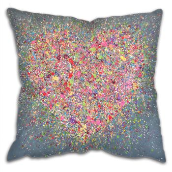 "CUSHION - ""Home Is Where The Heart Is"""