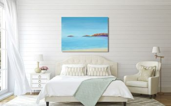 "CANVAS PRINT  - ""Abersoch Islands"" From £55"