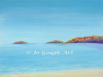 "FINE ART GICLEE PRINT - ""Abersoch Islands"" From £15"