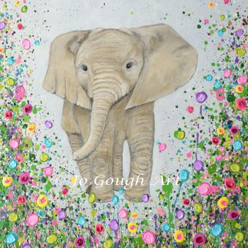 """FINE ART GICLEE PRINT - """"Nellie"""" From £10"""
