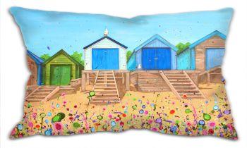 """CUSHION - """"Abersoch Beach Huts"""""""