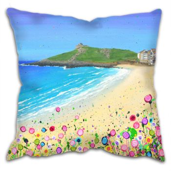 "CUSHION - ""Porthmeor Beach"""