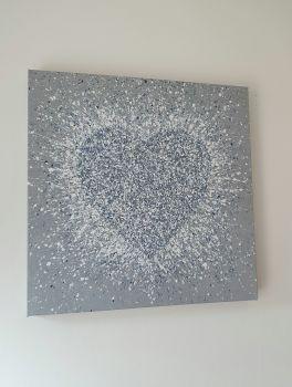 "ORIGINAL ART WORK - ""Pure Love"" (50x50cm)"