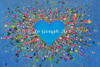 "FINE ART GICLEE PRINT - ""My Heart Belongs To You"" From £15"