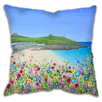 "CUSHION - ""Porthgwidden Beach"""