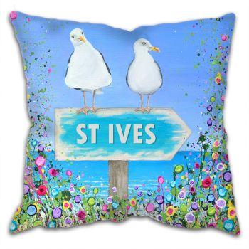 "CUSHION - ""St Ives Seagulls"""