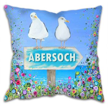 """CUSHION - """"Abersoch Seagulls"""""""