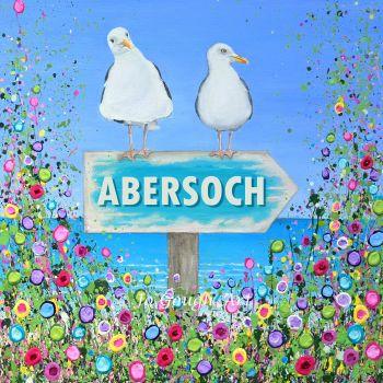 """FINE ART GICLEE PRINT - """"Abersoch Seagulls"""" From £10"""