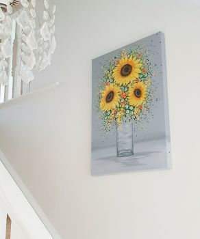 "ORIGINAL ART WORK - ""You're My Sunshine"" (75x50cm)"