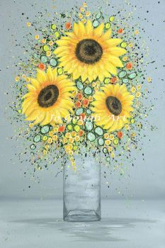 """FINE ART GICLEE PRINT - """"You're My Sunshine"""" From £15"""