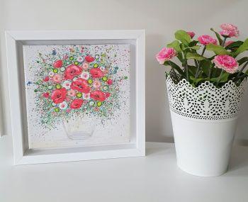 Framed Mini Square Canvas Print