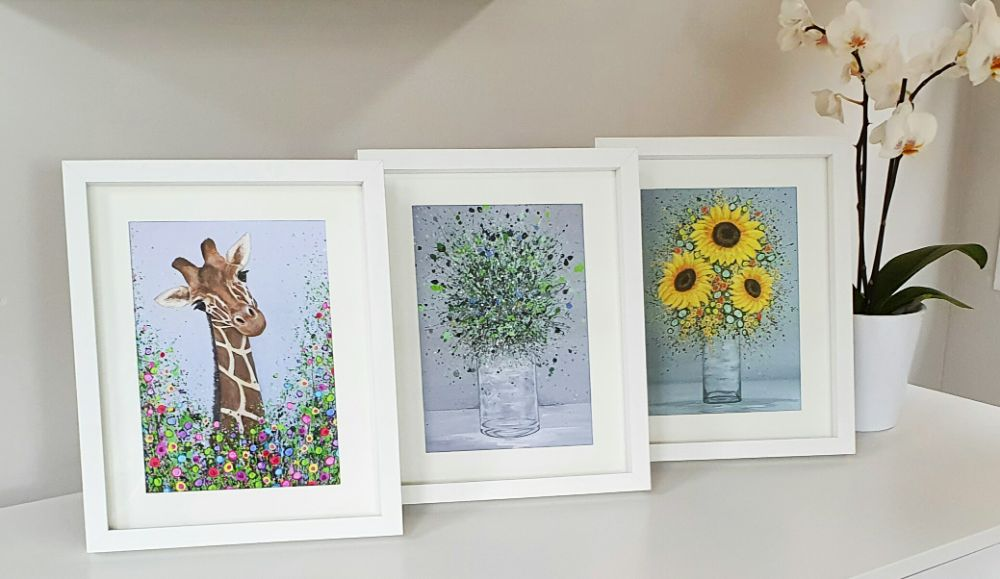 FRAMED MINI FINE ART PRINTS