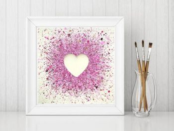"FINE ART GICLEE PRINT - ""So In Love With You"" From £10"