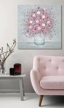 "CANVAS PRINT - ""You Make Me Blush"" From £65"
