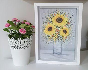 Framed Mini Rectangular Canvas Print