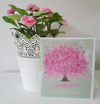 "GREETING CARD - ""Blossoming Love"""