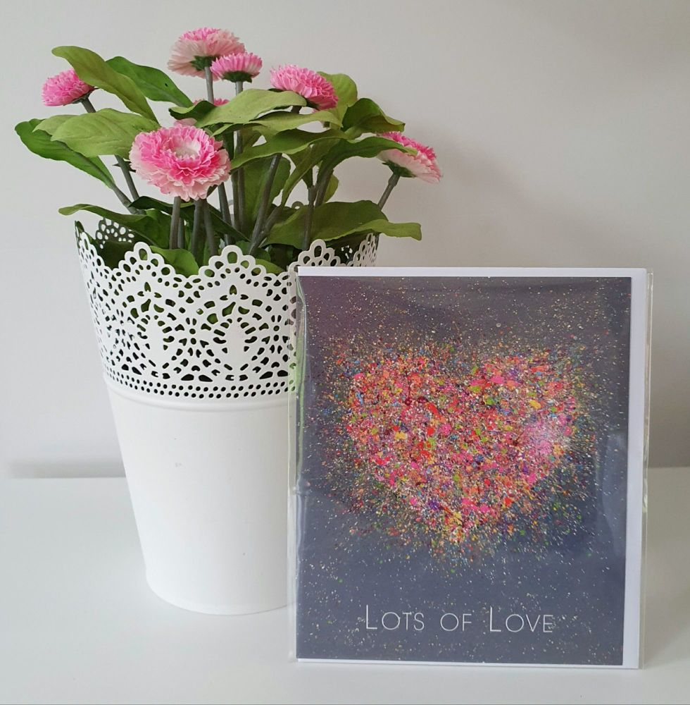GREETING CARD - Blossoming Love