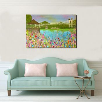 """CANVAS PRINT - """"The Groves,  Chester"""" From £55"""