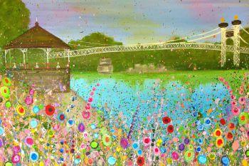 ORIGINAL ART WORK (75x50cm) - The Groves, Chester