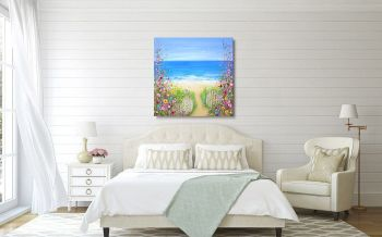 """CANVAS PRINT - """"Lazy Summer Days"""" From £65"""