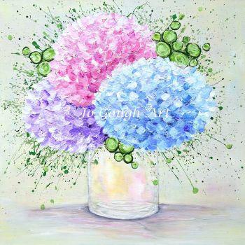 "ORIGINAL ARTWORK - ""My One True Love"" (60x60cm)"