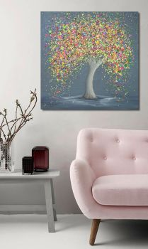 """CANVAS PRINT - """"Happy Love"""" From £65"""