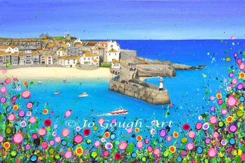 """FINE ART GICLEE PRINT - """"St Ives Harbour"""" From £15"""