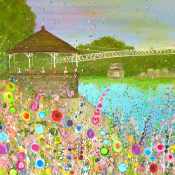 """FINE ART GICLEE PRINT - """"The Groves, Chester"""" From £10"""