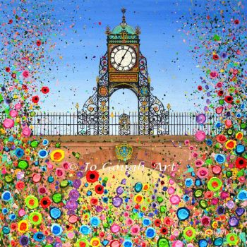 FINE ART GICLEE PRINT - Chester's Eastgate Clock (50X50cm) - 50 Editions