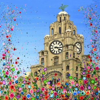 FINE ART GICLEE PRINT - Liver Building, Liverpool From £10