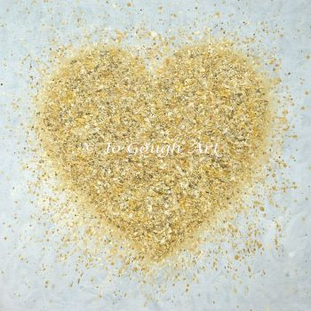 """FINE ART GICLEE PRINT - """"Heart of Gold"""" From £10"""