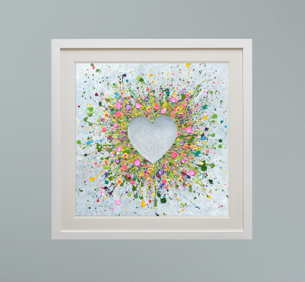 DUO FRAMED HEART PRINTS