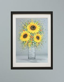 """DUO FRAMED PRINT - """"You're My Sunshine"""" FROM £185"""