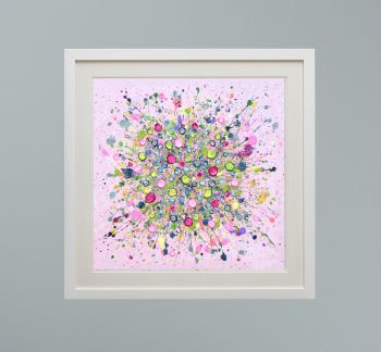 """DUO FRAMED PRINT - """"Bursting With Love"""" FROM  £165"""