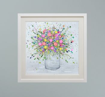 """DUO FRAMED PRINT - """"Love At First Sight"""" FROM  £165"""