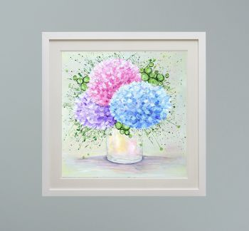 """DUO FRAMED PRINT - """"My One True Love"""" FROM  £165"""
