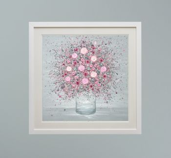 """DUO FRAMED PRINT - """"You Make Me Blush"""" FROM  £165"""