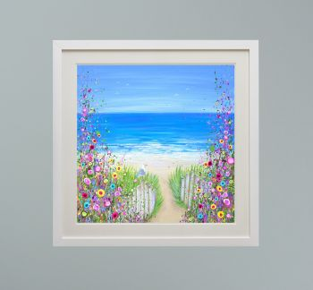 """DUO FRAMED PRINT - """"Lazy Summer Days"""" FROM  £165"""