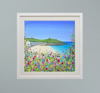 """DUO FRAMED PRINT - """"Porthgwidden Beach, St Ives"""" FROM  £165"""