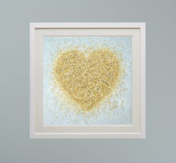 """DUO FRAMED PRINT - """"Heart Of Gold"""" FROM  £165"""