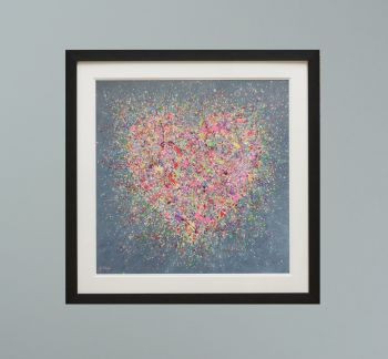 """DUO FRAMED PRINT - """"Home Is Where The Heart Is"""" FROM  £165"""
