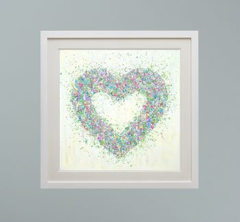 """DUO FRAMED PRINT - """"Loving You"""" FROM  £165"""