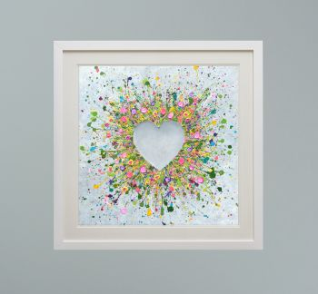 """DUO FRAMED PRINT - """"You Make Me Happy"""" FROM  £165"""