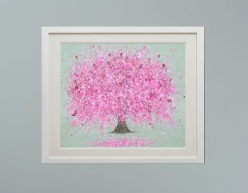 """DUO FRAMED PRINT - """"Blossoming Love"""" FROM £185"""
