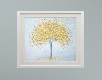 """DUO FRAMED PRINT - """"Golden Love"""" FROM £185"""