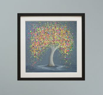 """DUO FRAMED PRINT - """"Happy Love"""" FROM  £165"""